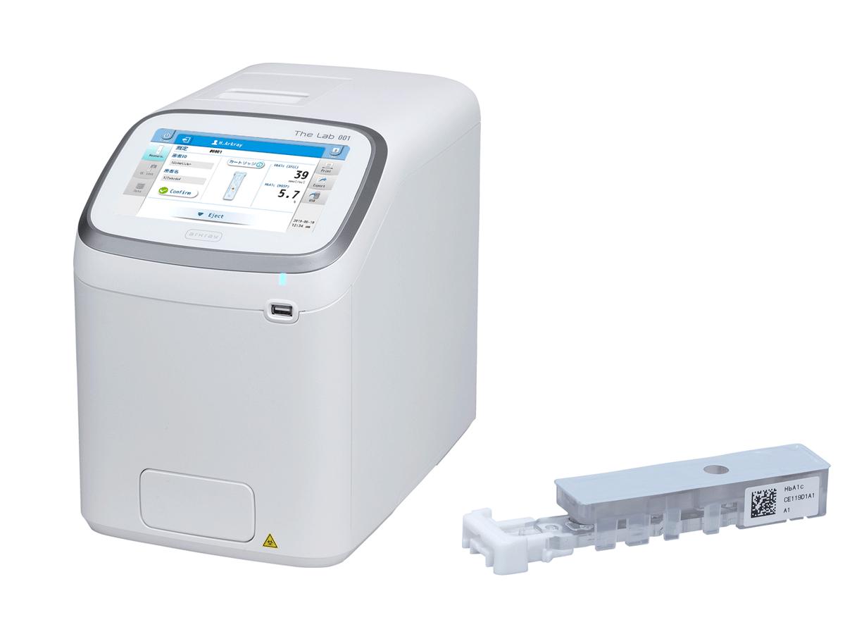 グリコヘモグロビン分析装置<br>アークレイ The Lab 001