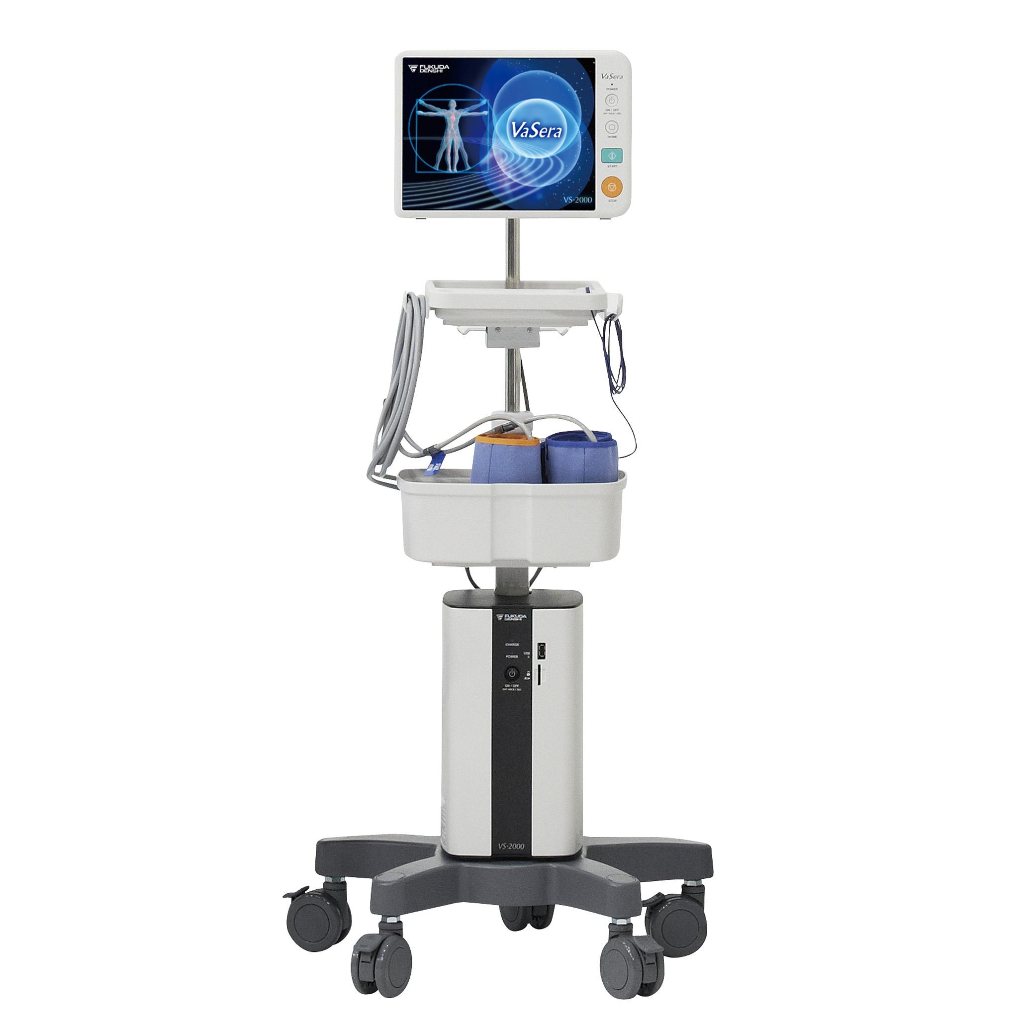 心電計・血圧脈波測定装置<br>フクダ電子 VS-2000